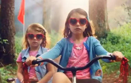 Haven TV Advert - Two Little Sisters on Tricycle