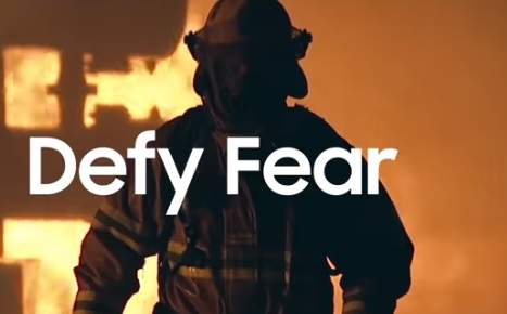 Samsung Defy Barriers Commercial - Fireman