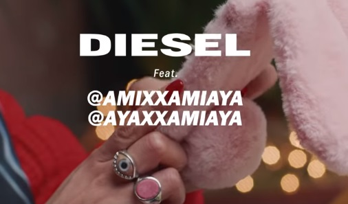 Diesel Influencers Commercial - Feat. Japanese Twin Sisters Amixxa & Ayaxxa