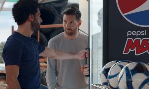 Pepsi MAX Commercial - Lionel Messi & Mo Salah