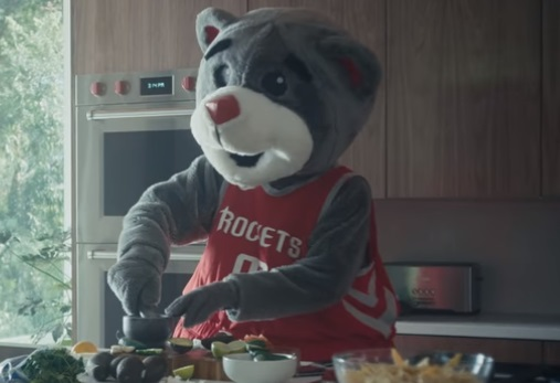 State Farm Houston Rockets' Mascot Clutch Commercial