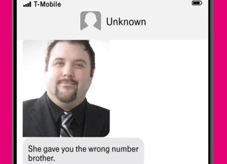 T-Mobile Super Bowl Commercial - Wrong Number