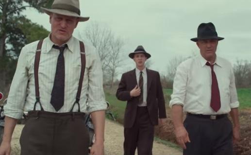 The Highwaymen (Trailer Netflix) - Kevin Costner & Woody Harrelson