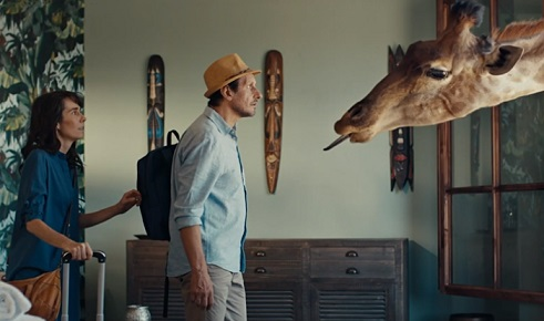 Booking.com Giraffe Commercial