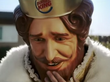 Burger King Commercial - All By Myself
