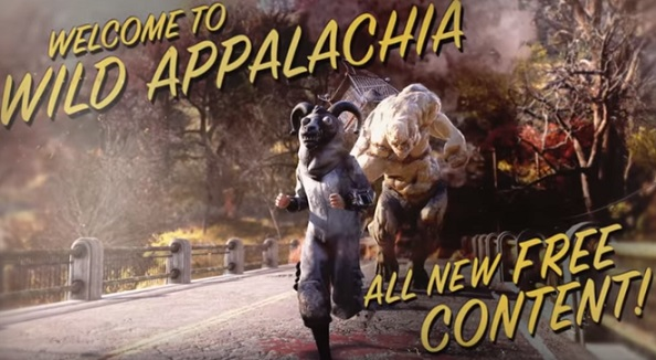 Fallout 76 Wild Appalachia Commercial