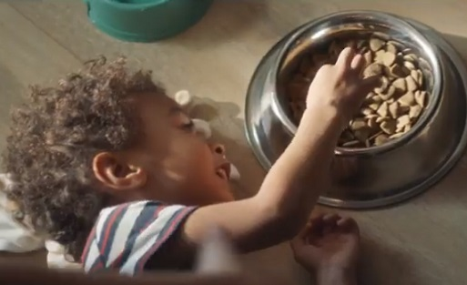 Kohl's Commercial - Kid Eating Dog Food