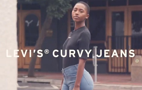 Levi's Curvy Jeans Commercial Girl