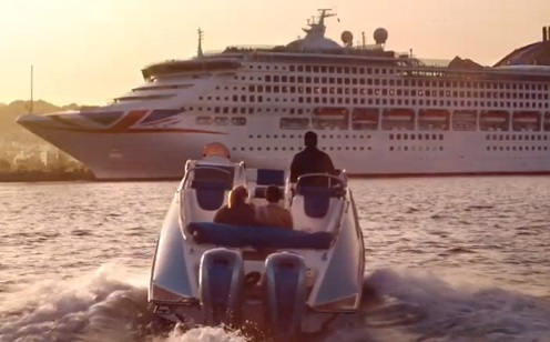 P&O Cruises Advert - Huw and Jenny Jenkins