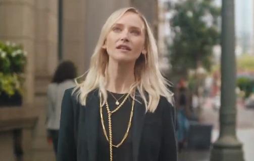 Citi Commercial Blonde Girl
