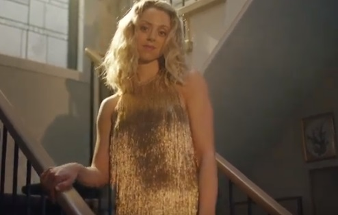 Amazon Prime Wardrobe Commercial - Girl in Golden Dress
