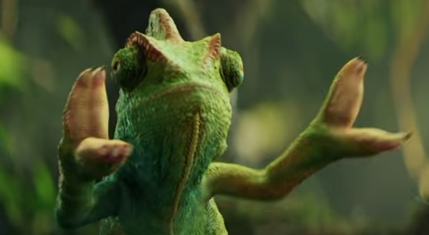 Berocca Dancing Chameleon Advert