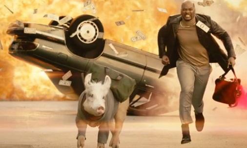 Carl's Jr. Talking Pig Commercial