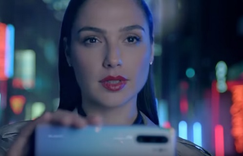 Huawei P30 Pro Gal Gadot Commercial Song