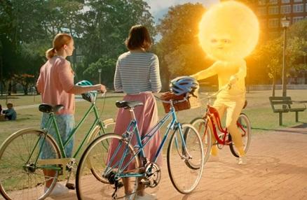Nivea Mr. Sun on Bike Advert