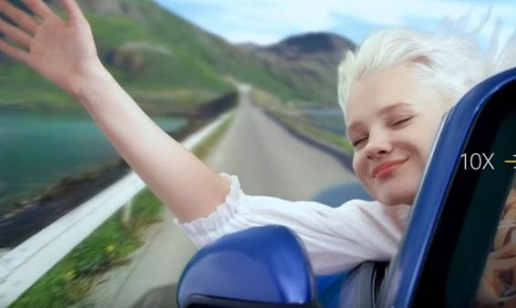 OPPO Reno 10x Hybrid Zoom Commercial Girl