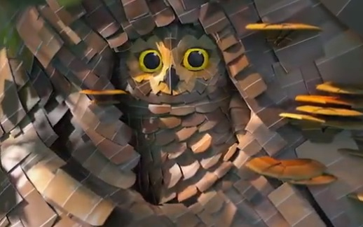 Sherwin-Williams Animated Commercial - Owl