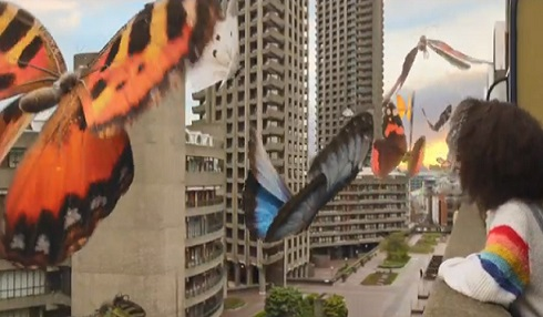 Smart Energy GB Advert Huge Butterflies - Smart Meter