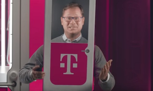 T-Mobile Phone BoothE Mobile EditionE Commercial