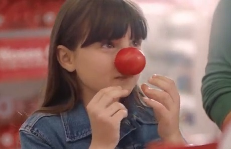 Walgreens Red Nose Day Commercial Girl