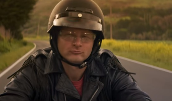 GEICO Motorcycle Commercial Guy