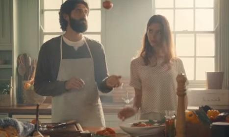 Samsung Refrigerator Commercial Couple