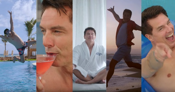TUI John Barrowman Advert