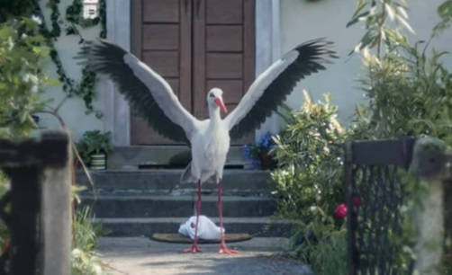 Fiat Mother's Day Stork Commercial