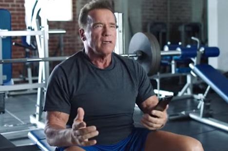 Ladder Protein Commercial - Arnold Schwarzenegger
