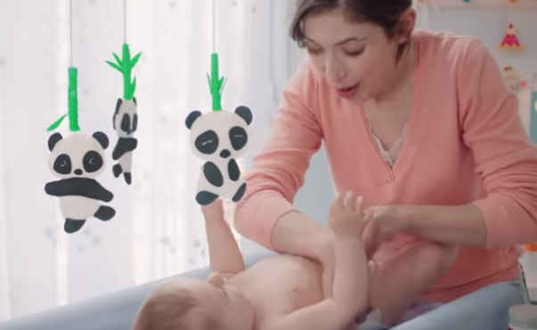 Sudocrem Advert - Baby and Panda Bears