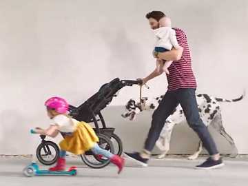 Target Graco Commercial - Dad & Kids