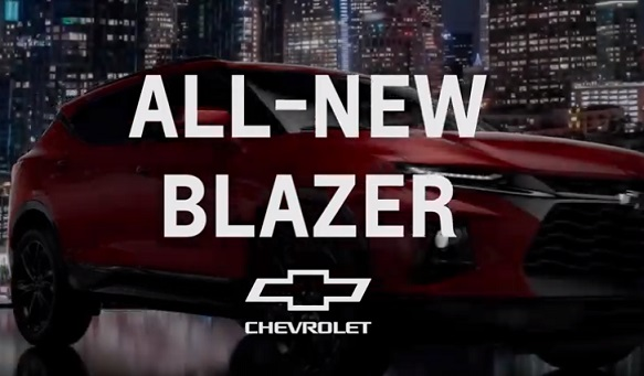 Chevy Blazer Commercial