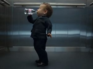 Evian Advert - The Baby Bare Necessities