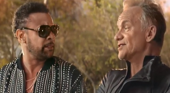 Fiat 500 Star & Rockstar Sting & Shaggy Advert Song