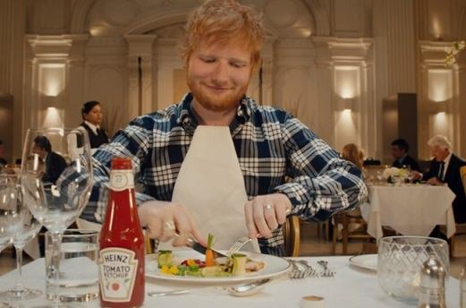 Heinz Ketchup Ed Sheeran Advert