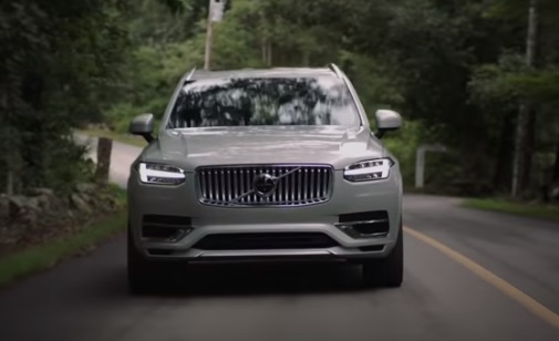 Volvo XC90 T8 Plug-in Hybrid Recharged Commercial