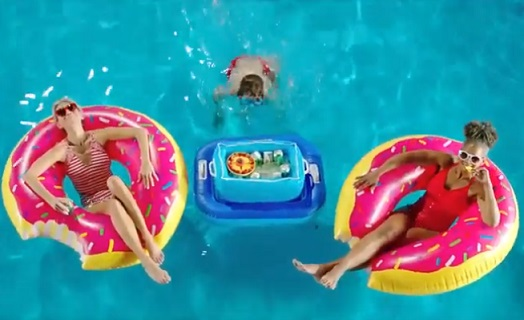Target Commercial - Girls in the Pool