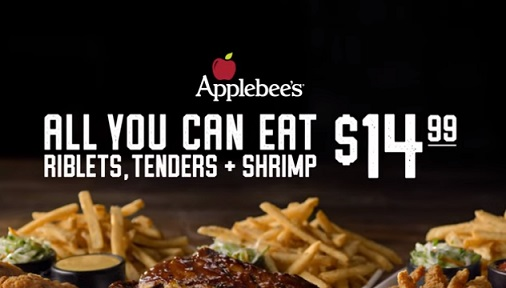 Applebee's All You Can Eat Commercial