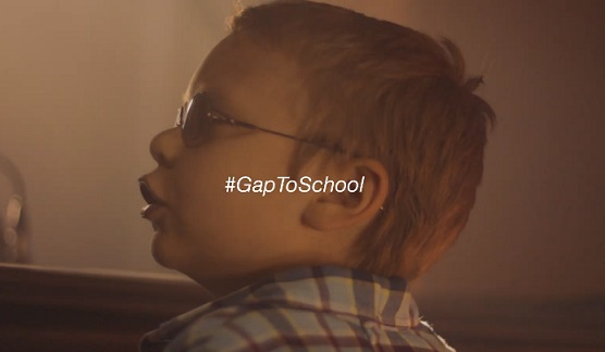 Gap Back to School Commercial Kid
