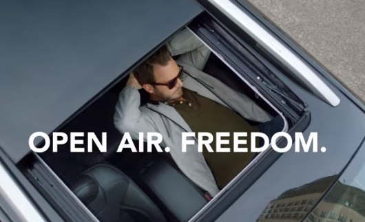 Jeep Cherokee Sunroof Commercial