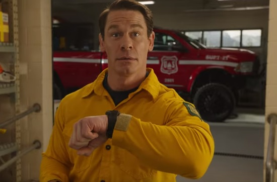 Playing with Fire (John Cena Firefighter Movie Trailer )