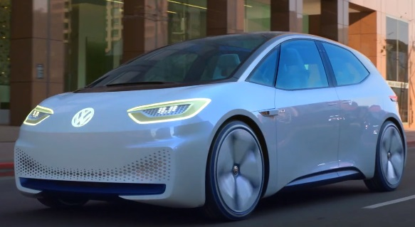ID. Volkswagen Electric Vehicle Advert