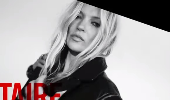 Zadig & Voltaire Kate Moss Advert