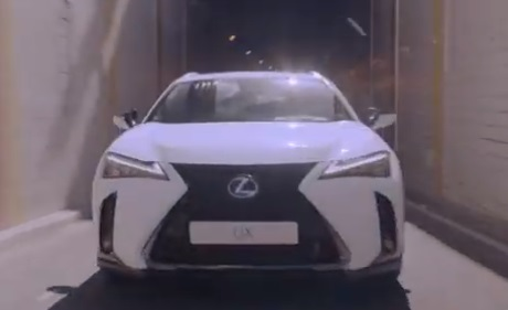 Lexus UX Self-Charging Hybrid Advert