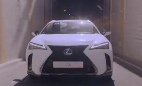 Lexus UX Self-Charging Hybrid Advert