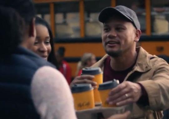 McDonald's McCafé Commercial Actors