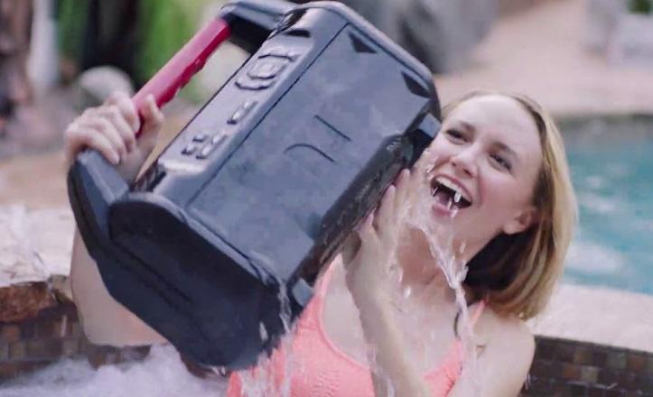 Monster Roam2 Portable Floating Speaker Commercial Girl