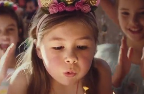 Big W Australia Commercial - Girl with Unicorn Circlet at Birthday Party