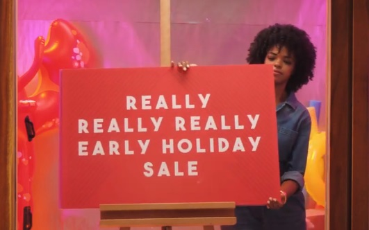 eBay Holiday Sale Commercial