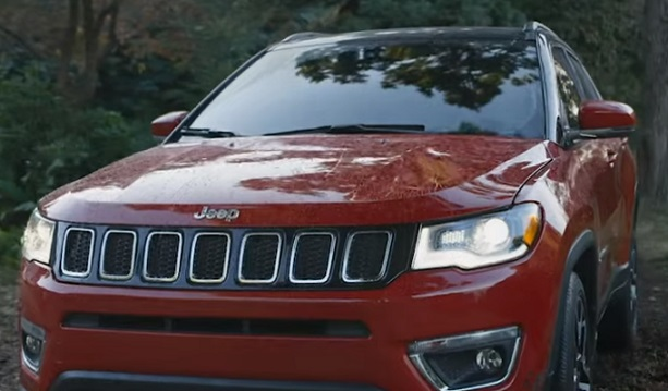 Jeep Compass Red Commercial